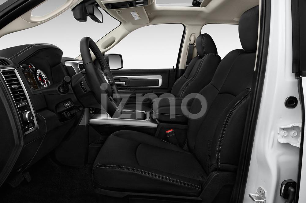 Front seat view of 2017 Ram 1500 Night Crew 4 Door Pick Up front seat car photos