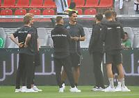 Julian Brandt (Deutschland Germany), Mats Hummels (Deutschland Germany), Joshua Kimmich (Deutschland, Germany) - 08.06.2018: Deutschland vs. Saudi-Arabien, Freundschaftsspiel, BayArena Leverkusen