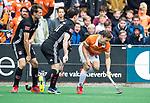 BLOEMENDAAL   - Hockey -  Roel Bovendeert (Bldaal) 3e en beslissende  wedstrijd halve finale Play Offs heren. Bloemendaal-Amsterdam (0-3).     Amsterdam plaatst zich voor de finale.  COPYRIGHT KOEN SUYK