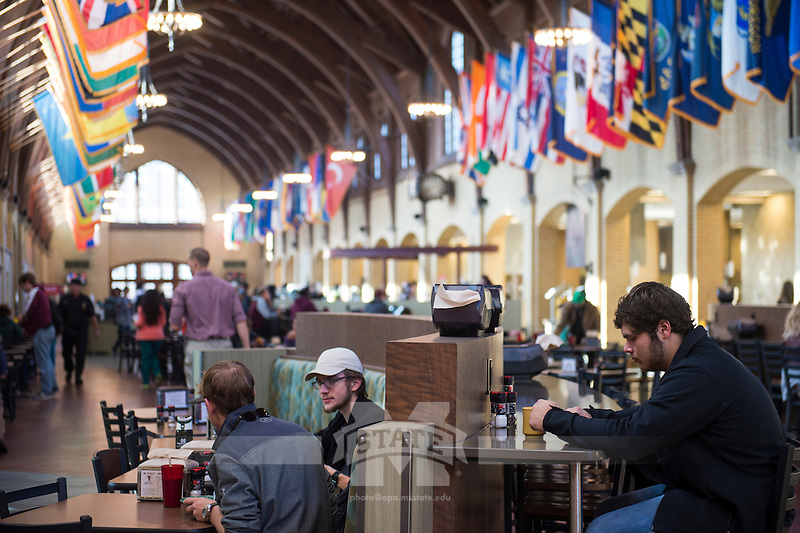 The Perry Cafeteria. (photo by Sarah Dutton / © Mississippi State University)