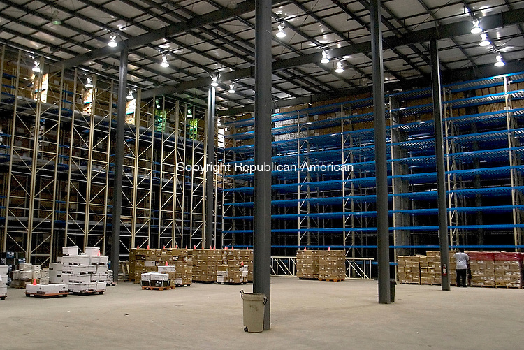 WATERTOWN, CT - 27 April 2004 - 042704TH10 -  One of ArchivesOne warehouses with 40-foot ceilings is located on Commercial Street in Watertown..  TODD HOUGAS PHOTO