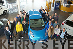 David Randles and Dusan Cizmar of Randles Garage in Manor West gave a demonstration of the 100% electric Nissan Leaf to the Renewable Technology 2 class from Tralee IT on Thursday.