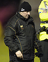 22/12/2007      Copyright Pic: James Stewart.File Name : sct_jspa23_motherwell_v_falkirk.MOTHERWELL MANAGER MARK MCGHEE AT THE END OF THE GAME AFTER HIS SIDE WENT 0-3 DOWN TO FALKIRK.James Stewart Photo Agency 19 Carronlea Drive, Falkirk. FK2 8DN      Vat Reg No. 607 6932 25.Office     : +44 (0)1324 570906     .Mobile   : +44 (0)7721 416997.Fax         : +44 (0)1324 570906.E-mail  :  jim@jspa.co.uk.If you require further information then contact Jim Stewart on any of the numbers above.........