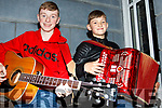 Brothers Daragh and Conor Breen of Kilflynn at the audition for Britains Got Talent at the Ashe Hotel on Monday last.