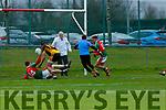Ian Devane scores the winning goal for kilcummin against Fermoy on Sunday