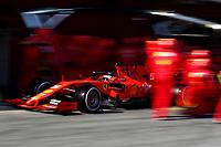 #05 Sebastian Vettel, Scuderia Ferrari. <br /> Montmelo Barcelona 01/03/2019 Circuit de Catalunya <br /> Formula 1 Test 2019 <br /> Foto Federico Basile / Insidefoto