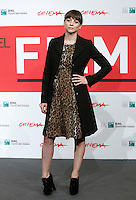 "L'attrice e cantante spagnola Leonor Watling posa durante un photocall per la presentazione del film ""Another me"" all'ottava edizione del Festival Internazionale del Film di Roma, 15 novembre 2013.<br /> Spanish actress and singer Leonor Watling poses during a photocall to present the movie ""Another me"" during the 8th edition of the international Rome Film Festival at Rome's Auditorium, 15 November 2013.<br /> UPDATE IMAGES PRESS/Isabella Bonotto"