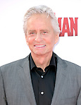 "Michael Douglas attends The Premiere Of Marvel's ""Ant-Man"" held at The Dolby Theatre  in Hollywood, California on June 29,2015                                                                               © 2015 Hollywood Press Agency"