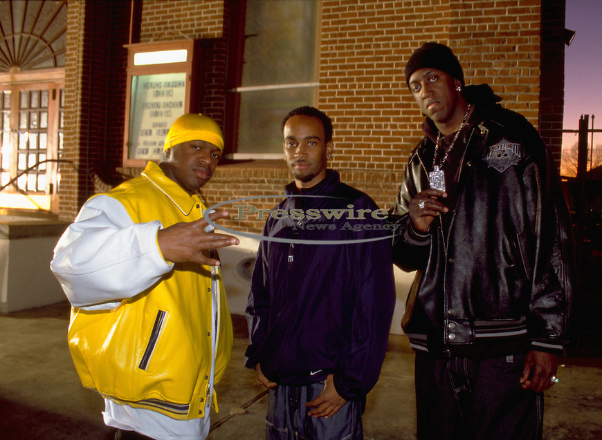 "Co CEO Brian ""Baby Birdman"" Williams, video director Bille Woodruff & Co CEO of Cash Money Records Ronald ""Slim"" Williams in New Orleans, Louisiana"