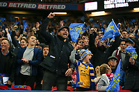 Picture by Alex Whitehead/SWpix.com - 07/10/2017 - Rugby League - Betfred Super League Grand Final - Castleford Tigers v Leeds Rhinos - Old Trafford, Manchester, England - Leeds fans, supporters.