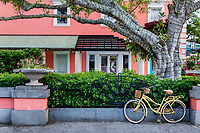 Charming downtown Old Naples, Florida, USA.
