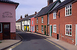 AMHKA1 Terraced cottage houses Halesworth Suffolk England