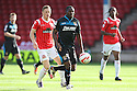Francis Zoko of Stevenage attacks<br />  - Walsall v Stevenage - Sky Bet League One - Banks's Stadium, Walsall - 19th October 2013. <br /> © Kevin Coleman 2013