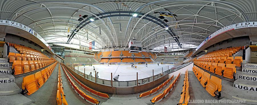 Switzerland; Ticino Region;  Lugano; Resega; Hockey Club Lugano; Ice Hockey Stadion