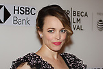 Actress Rachel McAdams arrives at the U.S. premiere of the movie Disobedience, on April 22 2018, during the Tribeca Film Festival in New York City.
