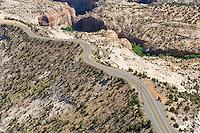 Highway 50 near Boulder, Utah