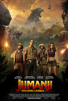 Jumanji: Welcome to the Jungle (2017) <br /> POSTER ART<br /> *Filmstill - Editorial Use Only*<br /> CAP/KFS<br /> Image supplied by Capital Pictures
