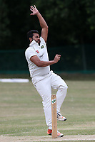 Maruf Chowdhury of Harold Wood during Harold Wood CC vs Shenfield CC (batting), Essex Cricket League Cricket at Harold Wood Park on 25th July 2020
