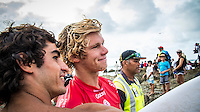 Snapper Rocks, Coolangatta Queensland Australia (Sunday, March 13 2016): John John Florence (HAW) - Round Two of the first WCT event of the year, the Quiksilver Pro Gold Coast, was called on this morning with a number of top seeds hitting the water. In a day up upsets the Tour Rookies took out a good proportion of the heats with Stu Kennedy(AUS) defeating Kelly Slater (USA), Conner Coffin (USA) knowing out Kai Otton and Ryan Callinan  (AUS) eliminating Jordy Smith (ZAF) The event was put on hold for over 4 hours while organisers waited for conditions to improve. The surf was in the 3'-4' range most of the day.Photo: joliphotos.com