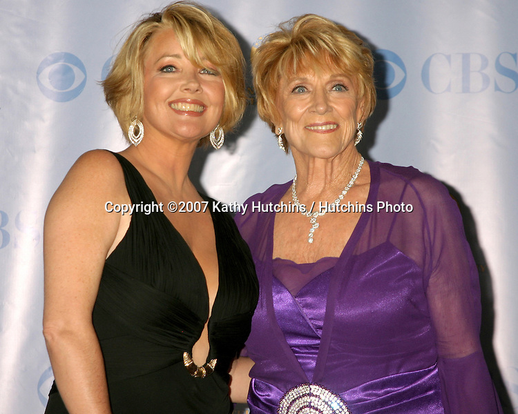 Melody Thomas Scott & Jeanne Cooper.Daytime Emmys 2007.Kodak Theater.Los Angeles, CA.June 15, 2007.©2007 Kathy Hutchins / Hutchins Photo....