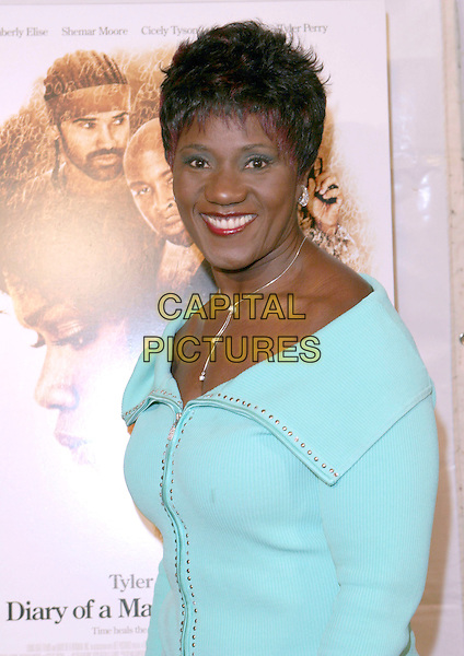 "MABLEAN EPHRIAM.""Diary of a Mad Black Woman"" Los Angeles Premiere held at the Arcight, Hollywood, California, 21 February 2005..portrait headshot.Ref: ADM.www.capitalpictures.com.sales@capitalpictures.com.©Zach Lipp/AdMedia/Capital Pictures ."