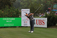 Poor Saksansin (THA) on the 7th tee during Round 4 of the UBS Hong Kong Open, at Hong Kong golf club, Fanling, Hong Kong. 26/11/2017<br /> Picture: Golffile | Thos Caffrey<br /> <br /> <br /> All photo usage must carry mandatory copyright credit     (&copy; Golffile | Thos Caffrey)
