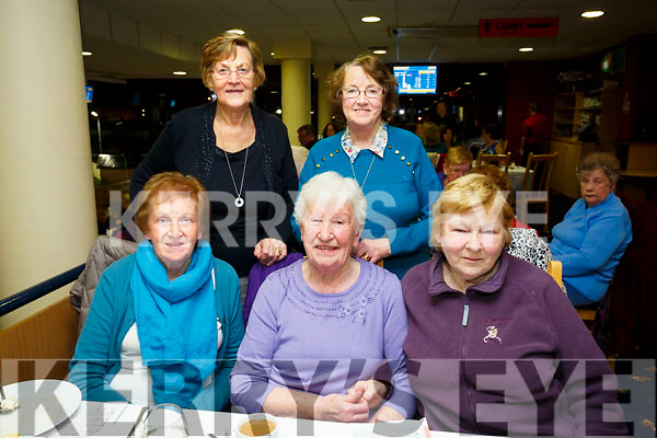 Tara Active retired enjoying a nit at the Dogs at the Kingdom Greyhound Stadium on Friday Pictured Front l-r Marie Browne, Ann Walsh, Bred Cleary Back l-r Ina Mulhall and Kathleen McGuire