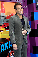 "LOS ANGELES - FEB 2:  Will Arnett at ""The Lego Movie 2: The Second Part"" Premiere at the Village Theater on February 2, 2019 in Westwood, CA"