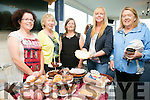 l-r  Christine Gallaher, Mary Kelly, Ann Moore, Jennifer Burke and Tess Burke at the Tralee Bay Sailing Club  Midsummer Art & Craft Fair'  in Aid of The Spa/Fenit branch of the Kerry Hospice in Fenit on Sunday