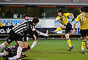 CELTIC'S KI SUNG YUENG SHOOTS AT GOAL