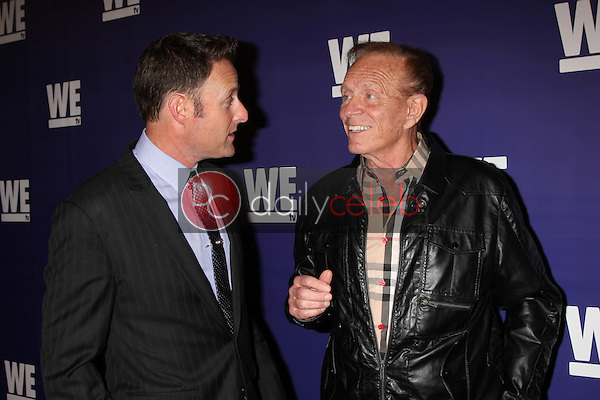 """Chris Harrison, Bob Eubanks<br /> at the WE tv Presents """"The Evolution of Relationship Reality Shows,"""" Paley Center for Media, Beverly Hills, CA 03-19-14<br /> Dave Edwards/DailyCeleb.com 818-249-4998"""