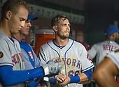New York Mets second baseman Jeff McNeil (68) in the dugout during the ninth inning against the Washington Nationals at Nationals Park in Washington, D.C. on Tuesday, July 31, 2018.  The Nationals won the game 25 - 4.  <br /> Credit: Ron Sachs / CNP<br /> (RESTRICTION: NO New York or New Jersey Newspapers or newspapers within a 75 mile radius of New York City)