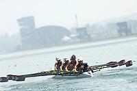 Beijing, CHINA, USA JW8+, bow, Grace LUCZAK, Felice MUELLER, Caroline NASH, Melisa ONGUN, Natelie EISERMANN, Elise WILSON, Lauren SHOOK, Molly HAMMRICK ND COX ALAIZAH KOORJI, during the  2007. FISA Junior World Rowing Championships Shunyi Water Sports Complex. Wed. 08.08.2007  [Photo, Peter Spurrier/Intersport-images]..... , Rowing Course, Shun Yi Water Complex, Beijing, CHINA,