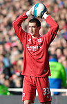 Middlesbrough's Andrew Taylor. during the Premier League match at the Riverside Stadium, Middlesbrough. Picture date 8th March 2008. Picture credit should read: Richard Lee/Sportimage