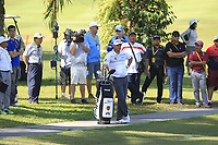 Lee Westwood (ENG) in action on the 6th during Round 4 of the Maybank Championship at the Saujana Golf and Country Club in Kuala Lumpur on Saturday 4th February 2018.<br /> Picture:  Thos Caffrey / www.golffile.ie<br /> <br /> All photo usage must carry mandatory copyright credit (&copy; Golffile | Thos Caffrey)