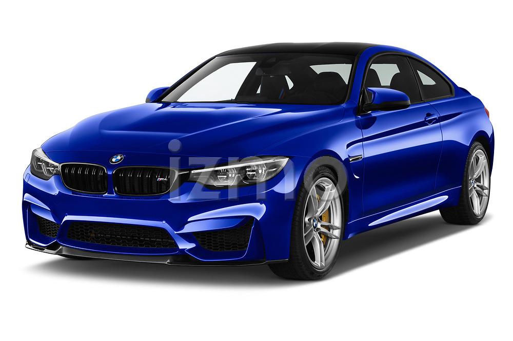 2018 BMW M4 M4 CS 2 Door Coupe angular front stock photos of front three quarter view