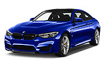 2018 BMW M4 M4 CS 2 Door Coupe angular front stock photos of front three quarter view