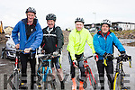 Taking part in the 'Tour of South Kerry Cycle' on Saturday were l-r; Paddy Joe Griffin, Pat Murphy, Mike Greaney & Joe Thompson.