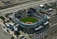 aerial photograph U.S. Cellular Field, Cominsky Park, Chicago, Illinois