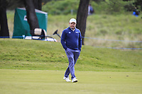 Richard Sterne (RSA) on the 3rd fairway during Round 2 of the Betfred British Masters 2019 at Hillside Golf Club, Southport, Lancashire, England. 10/05/19<br /> <br /> Picture: Thos Caffrey / Golffile<br /> <br /> All photos usage must carry mandatory copyright credit (&copy; Golffile | Thos Caffrey)