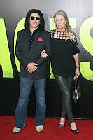 Gene Simmons and Shannon Tweed at the Premiere of Universal Pictures' 'Savages' at Westwood Village on June 25, 2012 in Los Angeles, California. ©mpi21/MediaPunch Inc. /*NORTEPHOTO.COM*<br /> **SOLO*VENTA*EN*MEXICO** **CREDITO*OBLIGATORIO** *No*Venta*A*Terceros* *No*Sale*So*third* *** No Se Permite Hacer Archivo** *No*Sale*So*third*©Imagenes con derechos de autor,©todos reservados. El uso de las imagenes está sujeta de pago a nortephoto.com El uso no autorizado de esta imagen en cualquier materia está sujeta a una pena de tasa de 2 veces a la normal. Para más información: nortephoto@gmail.com* nortephoto.com.
