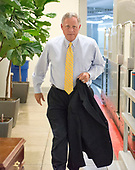 "United States Senator Richard Burr (Republican of North Carolina) arrives in the US Capitol by the Senate Subway prior to the vote on the repeal of the Affordable Care Act (ACA) also known as ""Obamacare"" in Washington, DC on Wednesday, July 26, 2017.  The Senate voted 55-45 to reject legislation undoing major portions of President Barack Obama's signature healthcare law without a plan to replace it.<br /> Credit: Ron Sachs / CNP"