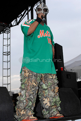 Doom performing live at the Rock the Bells festival at Randall's Island in New York City on July 29, 2007.  © David Atlas / MediaPunch
