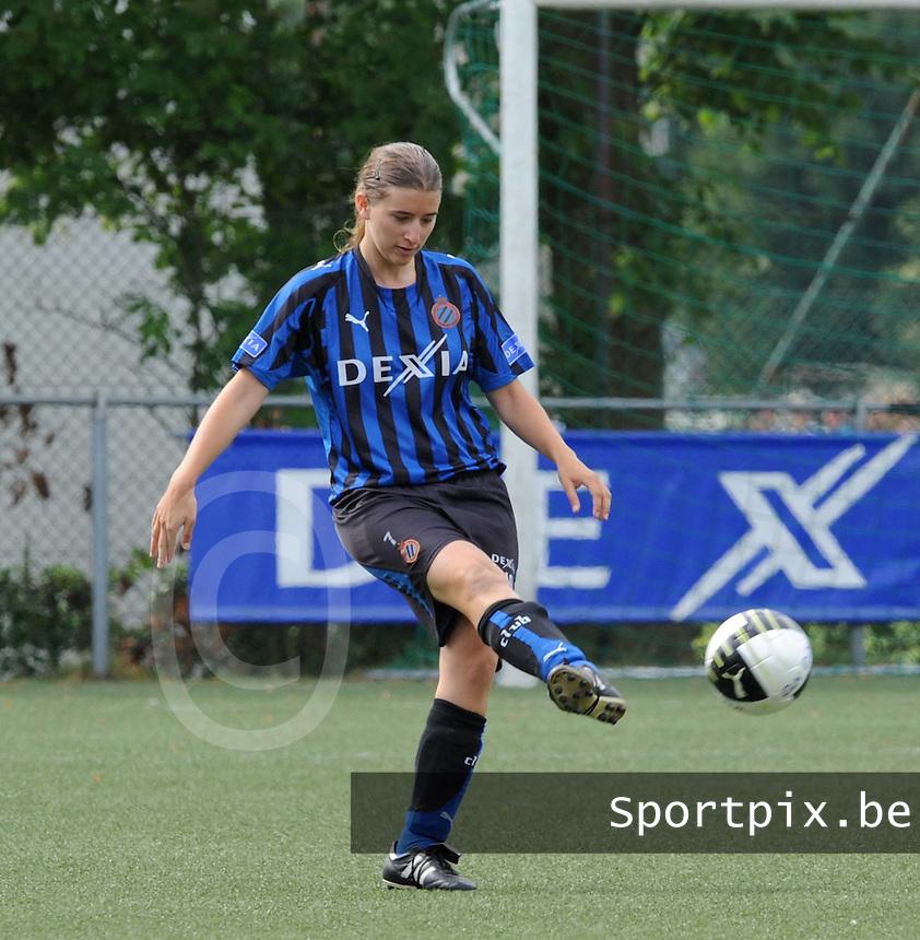 Dames Club Brugge : Berdien Van den Driessche.foto VDB / BART VANDENBROUCKE