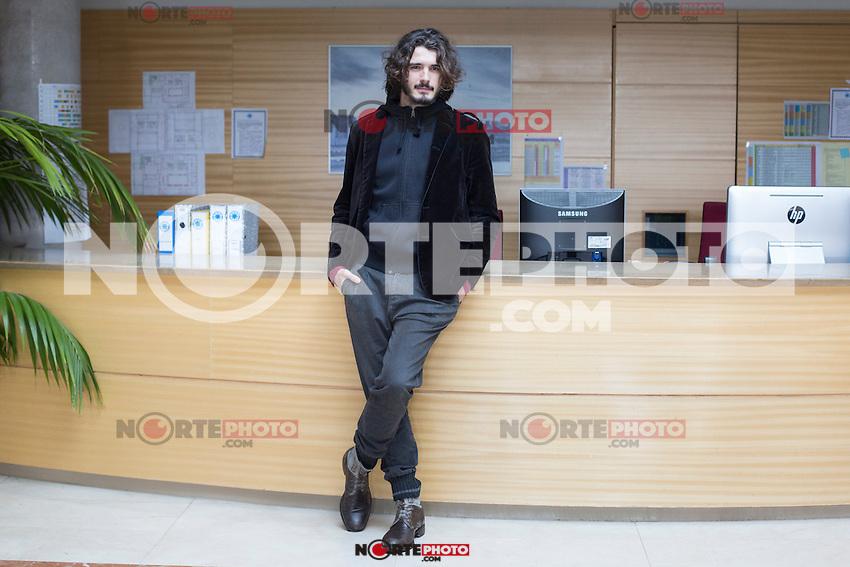 Actor Yon Gonzalez poses during the `Bajo sospecha´ TV Show presentation in Madrid, Spain. January 11, 2016. (ALTERPHOTOS/Victor Blanco) NortePhoto.com