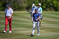 Andrew Landry (USA) approaches the green on 2 during Round 4 of the Valero Texas Open, AT&amp;T Oaks Course, TPC San Antonio, San Antonio, Texas, USA. 4/22/2018.<br /> Picture: Golffile | Ken Murray<br /> <br /> <br /> All photo usage must carry mandatory copyright credit (&copy; Golffile | Ken Murray)