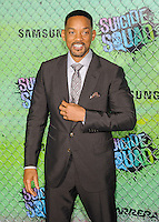 "01 August 2016 - New York, New York - Will Smith. ""Suicide Squad"" World Premiere. Photo Credit: Mario Santoro/AdMedia"