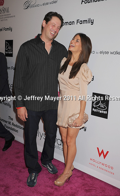 =HOLLYWOOD=, CA - SEPTEMBER 10: Samantha Harris and husband attend the Pink Party '11 Hosted By Jennifer Garner To Benefit Cedars-Sinai Women's Cancer Program at Drai's Hollywood on September 10, 2011 in Hollywood, California.