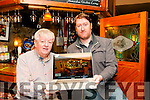 Virtual Tour: Gerry Behan, proprietor Behan' s Horseshoe Bar & Restaurant, Listowel  with photographer Ian Flavin who created a virtual tour of the premises for the restaurant's web site.
