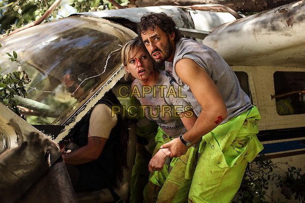 Ignacia Allamand, Ariel Levy<br /> in The Green Inferno (2013) <br /> *Filmstill - Editorial Use Only*<br /> CAP/NFS<br /> Image supplied by Capital Pictures